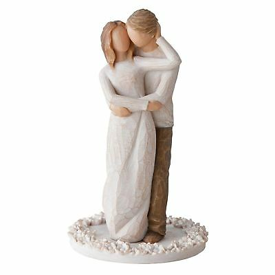 Demdaco DD27162 Cake Topper Willow Tree Together Figurine