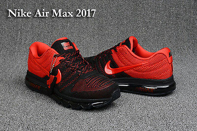 NEW !!Nike AIR MAX+ 2017 Men's Running Trainers Shoes Sneakers r/b