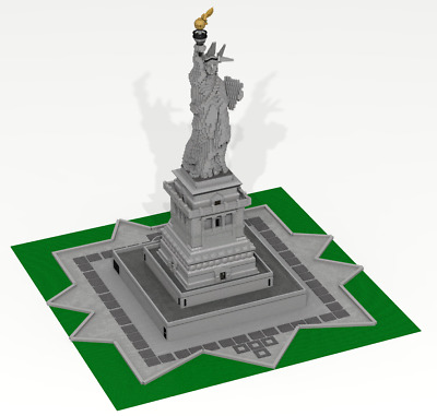 CUSTOM LEGO BUILDING Statue of Liberty  New York (USA)  GIANT SIZE: 60  inches!!!