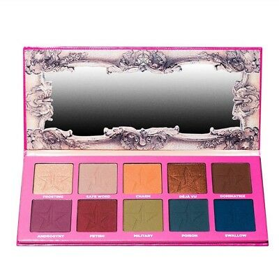 New Jeffree Star❤️ANDROGYNY 10 Colours EYESHADOW PALETTE✔️UK seller