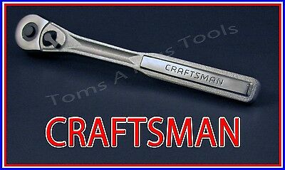 "CRAFTSMAN HAND TOOLS 3/8"" drive Quick Release Ratchet Socket Wrench (FREE SHIP)"