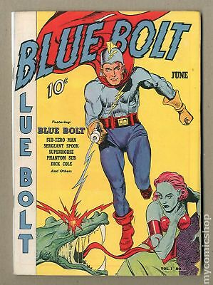 Blue Bolt Vol. 01 (1940) #1 Coverless 0.3
