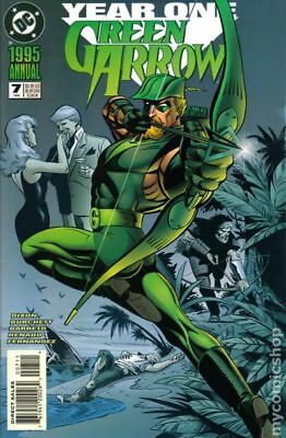 Green Arrow (1987 1st Series) Annual #7 FN+ 6.5