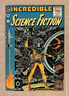 Incredible Science Fiction (1955 EC) #33 FN- 5.5