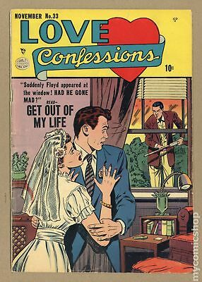Love Confessions (1949) #33 GD 2.0