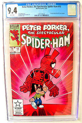 Peter Porker, The Spectacular Spider-Ham # 15 CGC 9.4