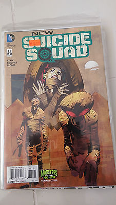 New Suicide Squad #13 (2015) Dc 52 Monsters Of The Month Variant Harley Quinn Nm
