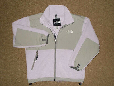 The North Face Girls (Youth/Junior) Light Purple Denali Fleece Jacket-Size M