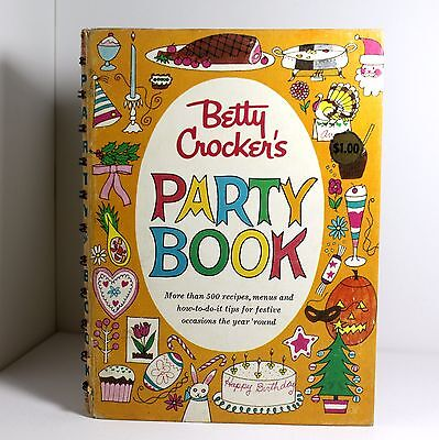 Golden Press 1960 Betty Crocker's Party Book - First Edition