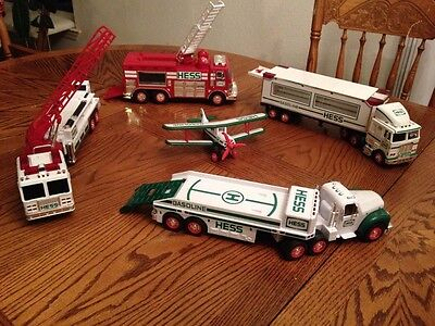 HESS Collectible Toy Trucks From 2002 and Earlier