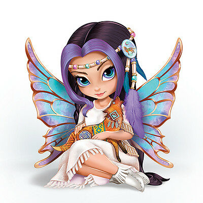 Moonchaser Fairy Native Figurine - Jasmine Becket Griffith