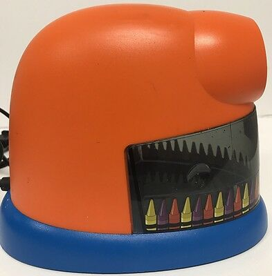 Electric Crayon Sharpener Elmers CrayonPro Model 1680 - Tested Works