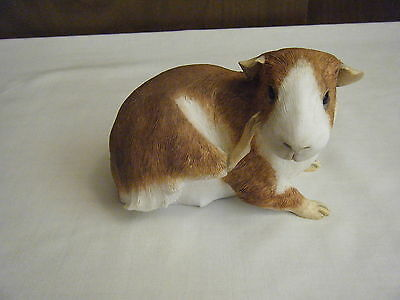 Sherratt & Simpson Guinea Pig Scratching With Claw Figurine #55205