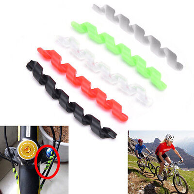 5PCS Bicycle Outer Brake Anti-friction Cable Wrap Frame Protector  Road Bike