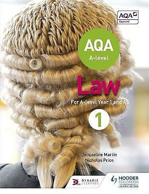 AQA A-Level Law for Year 1/AS, Jacqueline Martin