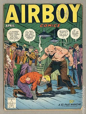 Airboy Comics Vol. 06 (1949 Hillman) #3 GD- 1.8