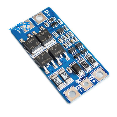 2S 10A 7.4V 18650 Lithium Charger Protection Board BMS PCM Moudle with Balance