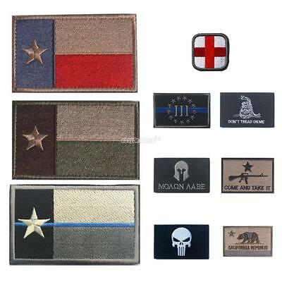 Chic New Army 3D Embroidered Punisher badge Patches logo armband patch