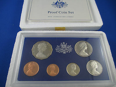 1984 Australian RAM PROOF COIN SET. Excellent set all round. With foams + Cert