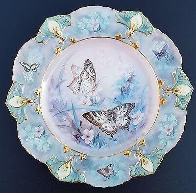 "Lena Lui ""Shimmering Vision""*JEWELS OF THE GARDEN 2003 Bradford Exchange Plate"