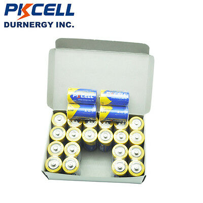 8pcs C Size Batteries Super Heavy Duty R14P Carbon-zinc 1.5v MN1400 PKCELL