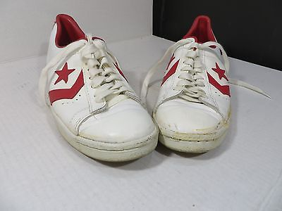 Vintage Converse Leather All Star Basketball Men's Pro Oxford Shoe Size 10