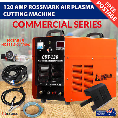 NEW Rossmark 120AMP DC Inverter Air Plasma Cutting Cutter Machine Commercial