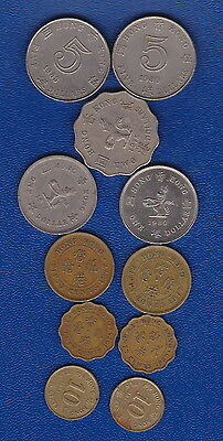 Hong Kong  - Bulk MIXED CURRENT Set of coins for travellers/Collectors - H/Value