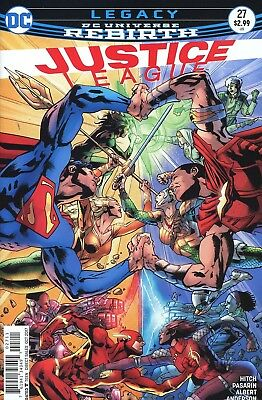 Justice League #27 Rebirth Dc Comics Near Mint 8/16/17