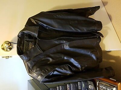 Vintage Large Siricco leather jacket