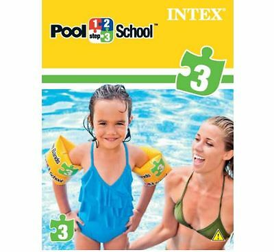 Intex pool school 123 inflatable swimming aid float - Pool school 123 ...