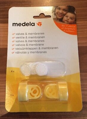 Medala Breast Pump Valves And Membranes Replacements