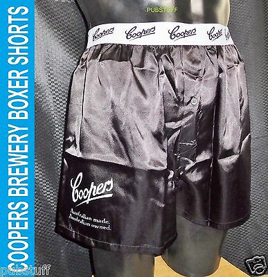 Coopers Brewery Beer Boxer Shorts ~ New Genuine Merchandise ~ Free Postage (Xl)