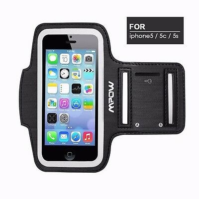 Mpow Sport Sweatproof Armband for Apple iPhone 5/5S/5C Gym Running Jogging