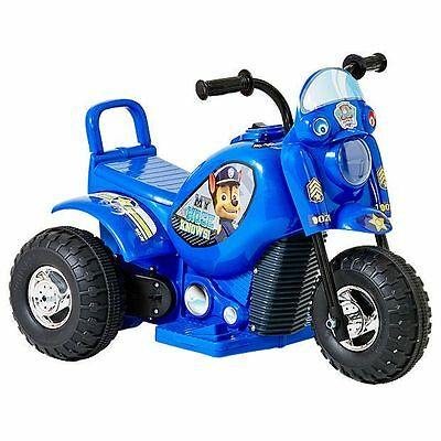 New Chase-Blue Paw Patrol 6V Electronic Bike Kids Ride On Toy