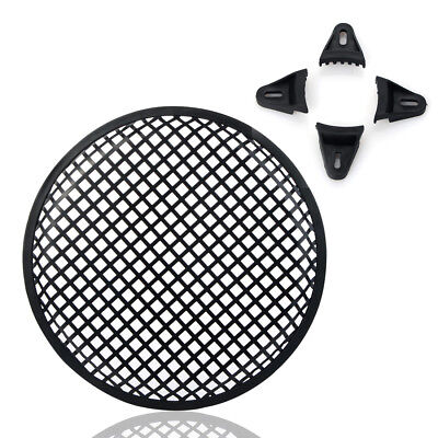 "10"" inch Metal Vehicle Audio Speaker Woofer SubWoofer Grill Cover Protector UK"