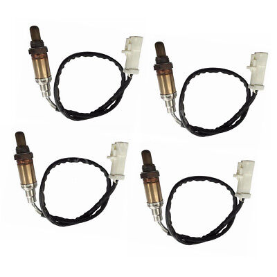 Set of 4 O2 Oxygen Sensor Front Rear Downstream & Upstream For Ford Mercury