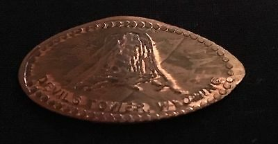 Devil's Tower National Monument Elongated/pressed Penny Souvenir