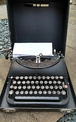 Remington Rand Limited Model 5 Antique vintage police typewriter