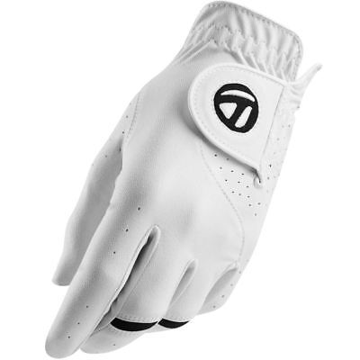 TaylorMade 2017 All-Weather Leather Palm Mens Golf Gloves Pack of 1 - Left Hand
