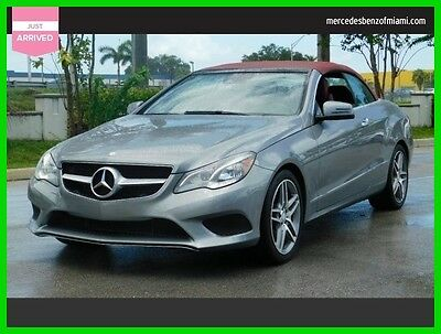 2014 Mercedes-Benz E-Class E 350 2014 E 350 Used Certified 3.5L V6 24V Automatic Rear Wheel Drive Convertible