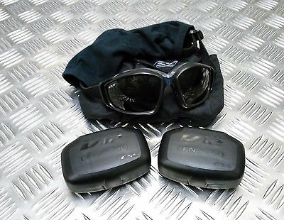 Genuine British Army Issue ESS V12 Advancer Ballistic Tactical / Assault Goggles