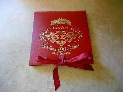 CARTIER Celebrates 100 Years in America Limited Edition Book/Brochure 1909-2009