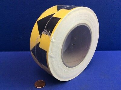 "LEM Pipe Banding & Directional Flow Tape 2"" X 30-yards Yellow w/ Black Arrows"