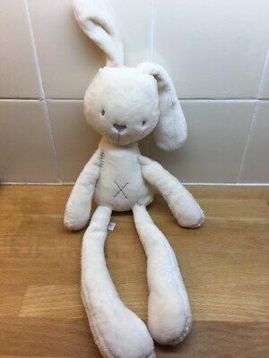 Mamas & Papas Millie & Boris cream bunny rabbit soft Plush cuddly Comforter 3