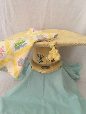 Vintage 1950's Counselor Baby Scale Yellow with cover