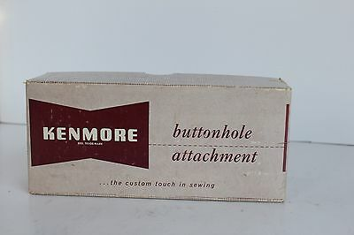 Vintage KENMORE Buttonhole Sewing Attachment No 607.06 SEARS ROEBUCK Buttonholer