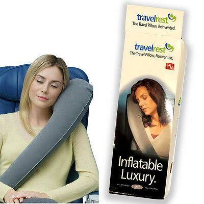 Travel Pillow Head Neck rest Ultimate Rated Comfortable Skyrest Inflatable Pilow