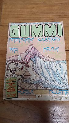 GUMMI Dutch Obscure Comic Magazine, from july 1977