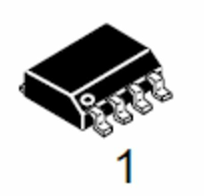 FDS4435  P-channel Logic Level Powertrenchtm Mosfet SO8 SMD ... 2 - Stück